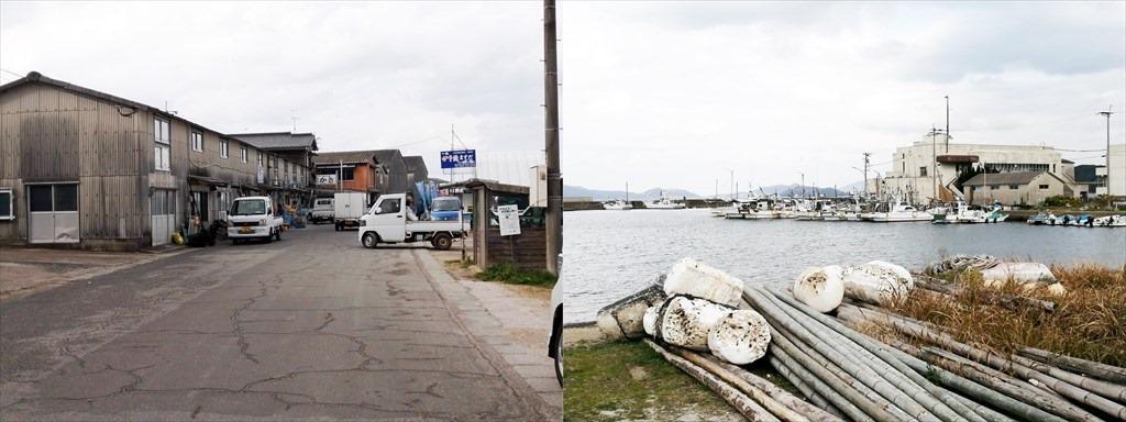 福吉漁港の風景