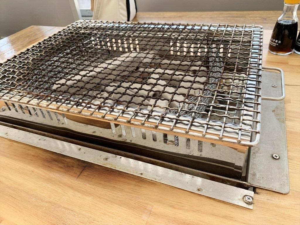 埋め込み式の焼き台